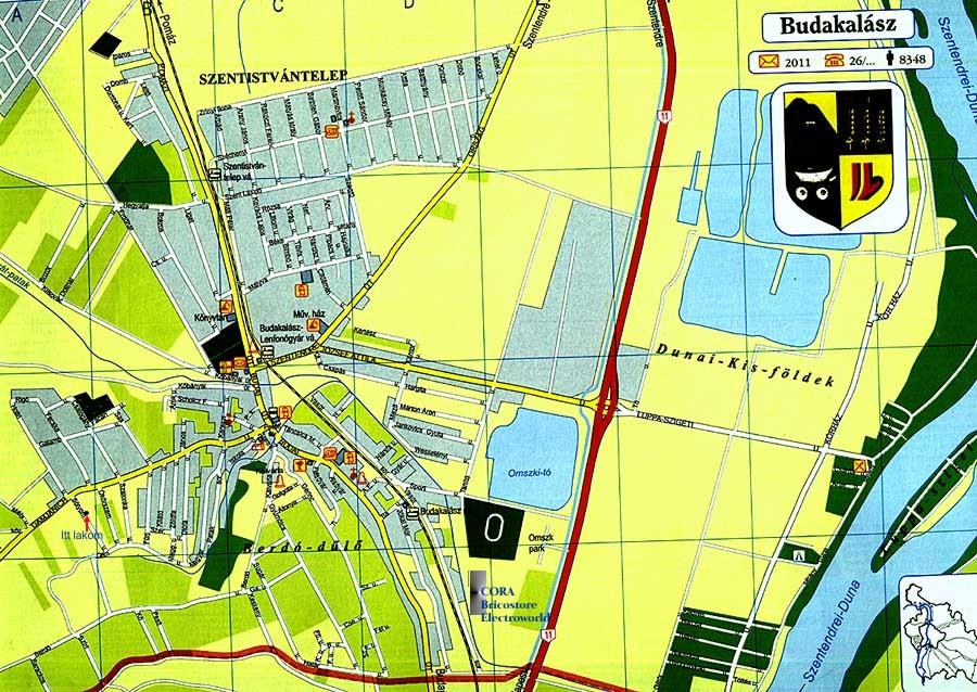 budakalász térkép Budakalász térképe és utcajegyzéke budakalász térkép